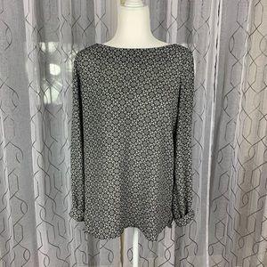 Pleoine Black and White Tunic Medium